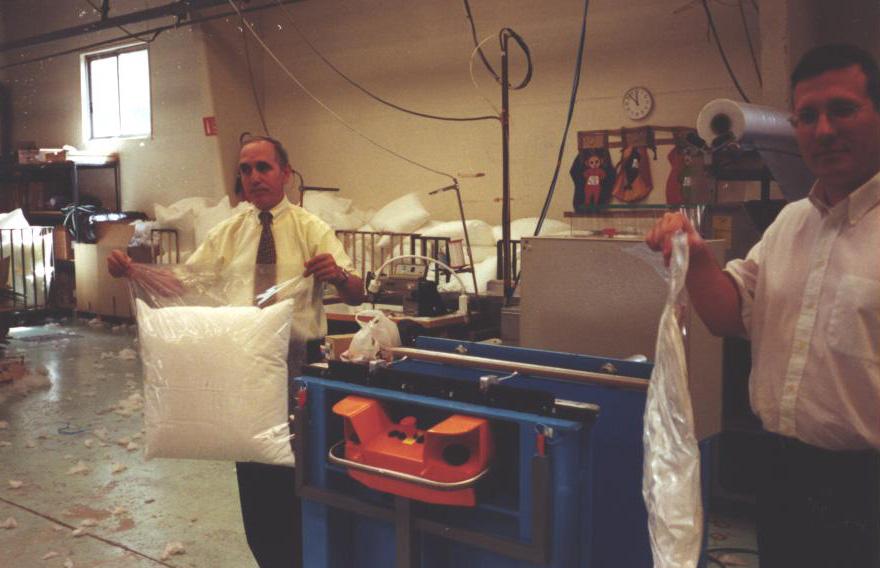 Soudeuse plastique coussins ci soudure - Coussins sur mesure belgique ...